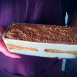 El famoso postre de café y galleta de Tasca Sansofé