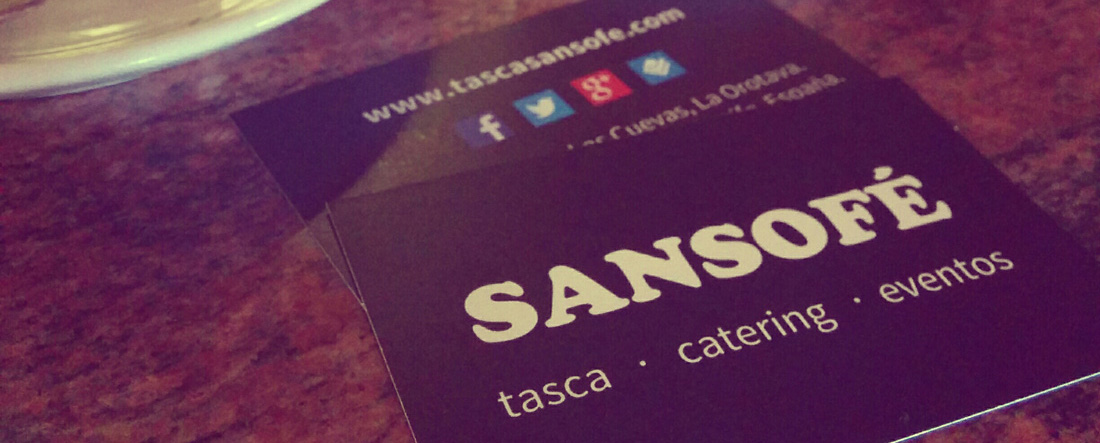 Contacto con Tasca Sansofé