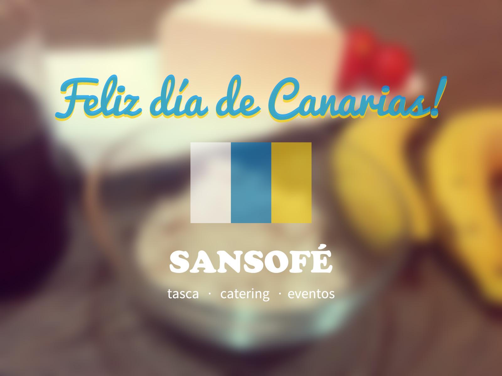 Sansofé Día de Canarias 2014