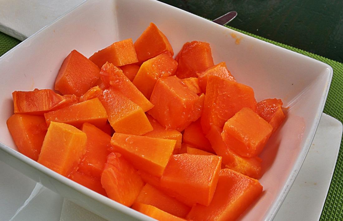 Tasca Sansofé papaya fresca de verano