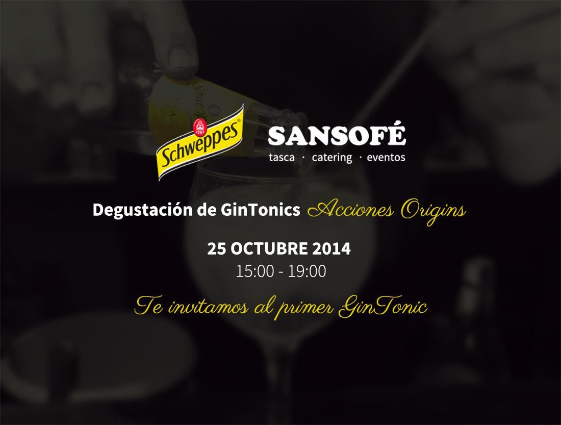 Degustación de GinTonics en Tasca Sansofé