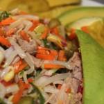 Ensaladas con alimentos naturales en Tasca Sansofé