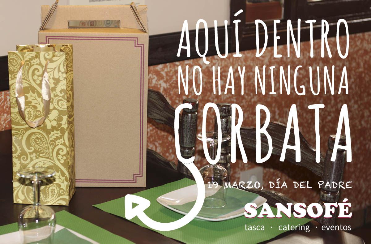 Tasca Sansofé tu Restaurante para celebrar el Día del Padre en Tenerife