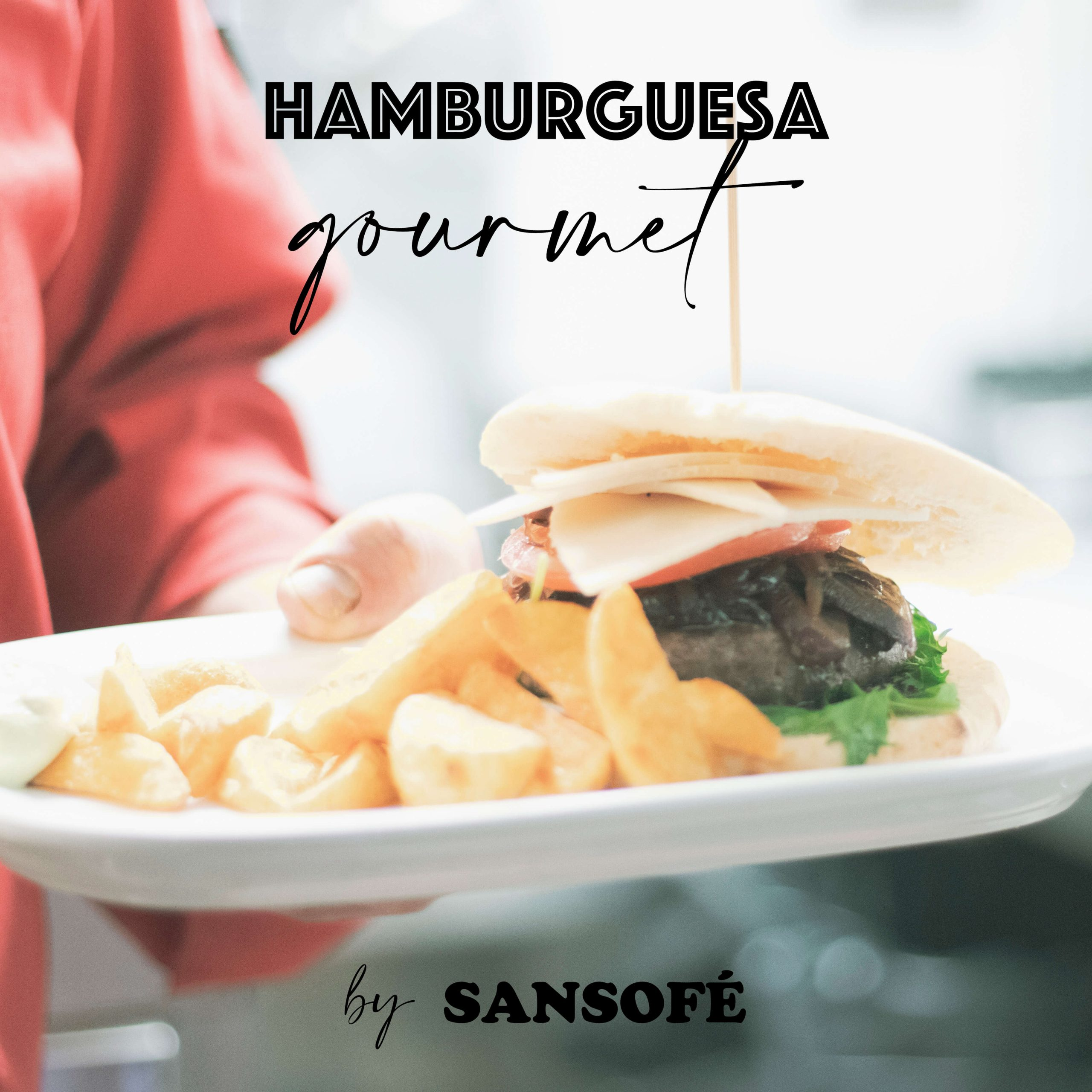 Concepto de Hamburguesa Gourmet por Tasca Sansofé