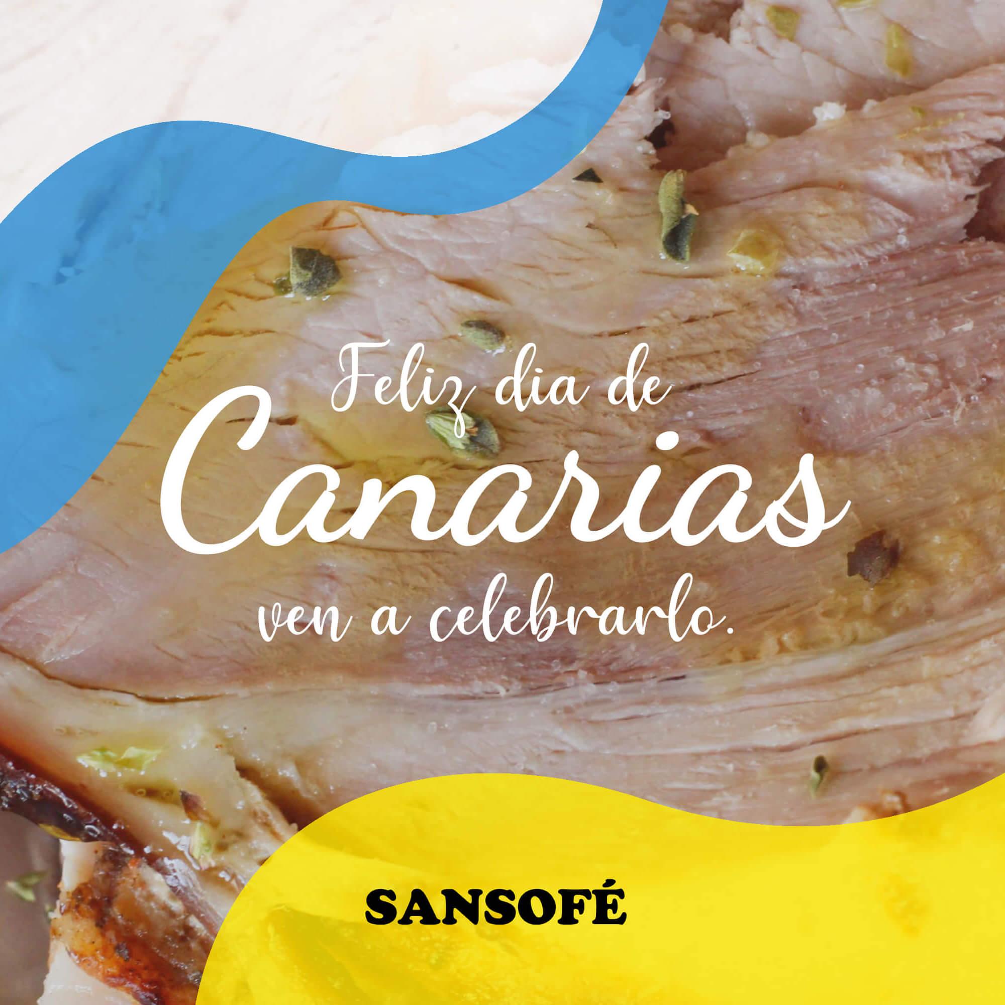 Cocina del Día de Canarias Sansofé