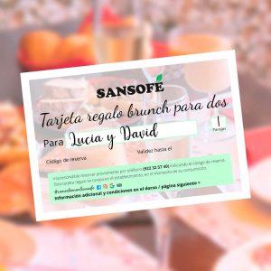 Tarjeta REGALO BRUNCH PARA DOS Tasca Sansofé WEB Ok