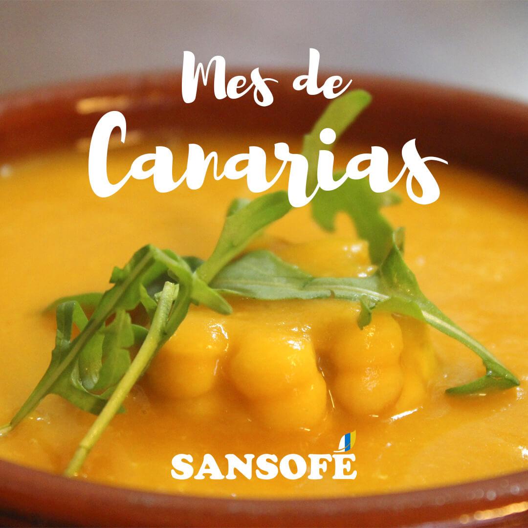El mes de Canarias en Tasca Sansofé